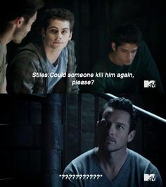I love Stiles and Peter so much. Seriously, I'm like in love with them both.