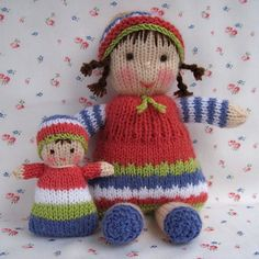 Ravelry: Lindy Lou and her little dolly by Wendy Phillips