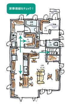 Design Poster, Japanese House, Japanese Design, Packaging, Branding, House Floor Plans, Graphic, Housekeeping, My House