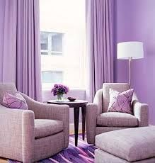 Modern interior design ideas and trendy colors marry to create gorgeous living spaces which are comfortable and eye-pleasing 2018 Interior Design Trends, Modern Interior Design, Purple Home, Lavender Living Rooms, Pastel Home Decor, Feng Shui Colours, Purple Interior, Room Decor, Bedroom Ideas