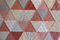 enJOY it by Elise Blaha Cripe: quilt for the baby girl.