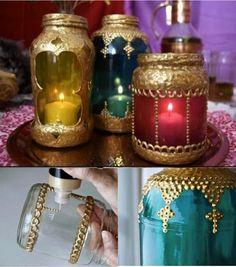 DIY Beautiful Moroccan Candle Lanterns   -- Don't miss out! Follow DIY Fun Ideas on facebook: www.facebook.com/diyfunideas
