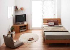 <원룸 인테리어> 원룸·작은방·작은집 인테리어 4 작은방이라도 적절한 공간분리와 가구를 통해 넓은...