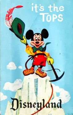 #Disney_Attraction_Posters #postcard #Mickey