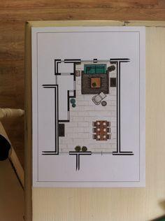Living- and diningrooom for GAC Peeters | Maudbymaud 2014 | www.maudbymaud.nl