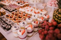 Candy Bar Wedding, Desert Table, Mini Cupcakes, Cake Pops, Sushi, Table Decorations, Cooking, Breakfast, Birthday