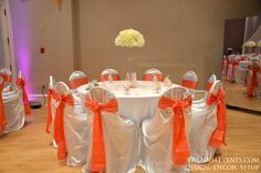 Burnaby Hall Wedding Artifical Silk Flower Centerpiece