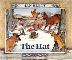 I loved anything by Jan Brett! Beautiful illustrations. One of my favorite children's authors!