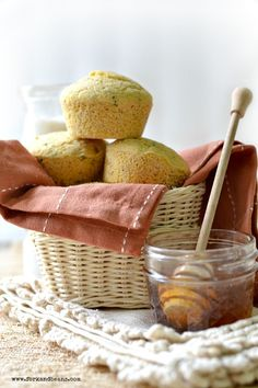Jalapeno Cornmeal Muffins - Fork & Beans (Gluten, egg, and dairy-free)