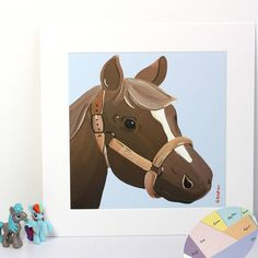 pony print personalised by lizajdesign | notonthehighstreet.com