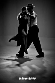 Tango foto blanco y negro