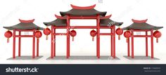 stock-photo-simple-d-chinese-pavilion-gate-in-white-background-174068555.jpg (1500×683)