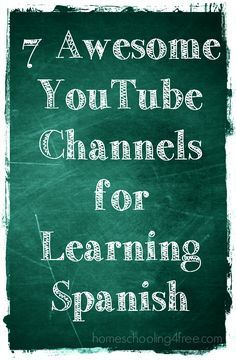 YouTube may not seem all that educational, but it houses some fantastic channels that can help you teach your children Spanish!