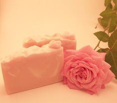 English Rose cold process soap  Palmfree by PearlyQueenSoapery, $6.50
