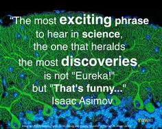 Science...can be interesting when you least expect it to be.