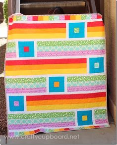 A Breezy Quilt by the Crafty Cupboard-- love this quilt!!!