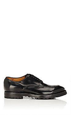 Apron-Toe Leather Balmorals