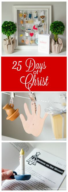 25 days of Christ || A new family tradition to help keep Christ the focus this Christmas season!