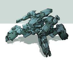 Concept - Robot, Eldar Safin