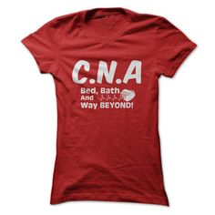 CNA T Shirts, Hoodies. Get it now ==► https://www.sunfrog.com/Automotive/CNA-54909615-Ladies.html?41382
