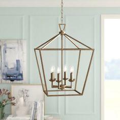 Lantern Chandelier, Rectangle Chandelier, Candelabra Bulbs, Lantern Pendant, Pendant Lighting, Joss And Main, Room Lights, Ceiling Lights, Glass Ceiling