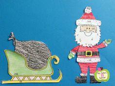 Ms. Fultzs Corner:Santa Math Craftivities