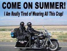 No one hates winter like a biker!! Harley-Davidson of Long Branch www.hdlongbranch.com