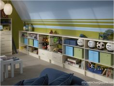 Lots of great ideas for playroom areas