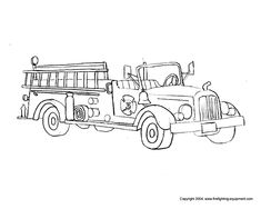 Log Truck Coloring Pages Paintbrush