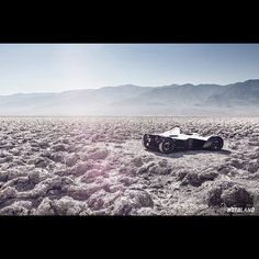 BAC Mono in death valley!