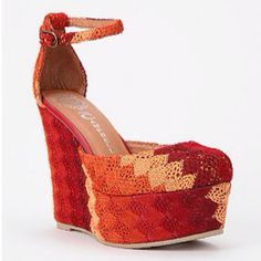 Jeffrey Campbell Bette Fab Platform Wedge