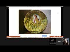 Инна Смирнова  Объемный декупаж на тарелке - YouTube