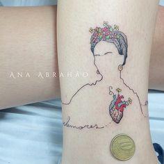 Tatuagem por Ana Abrahão, Brasília;