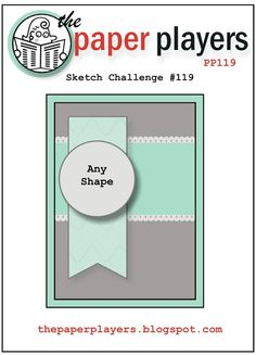 The Paper Players: Challenge #119 - A Sketch from Nance