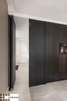 Luxury Kitchen Design, Interior Design Kitchen, Walk In Pantry, Door Design, Bungalow, Tall Cabinet Storage, Cabinets, Kitchens, Laundry