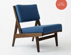 U 431 Low Chair by Jens Risom & Benchmark