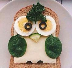 Owl toast