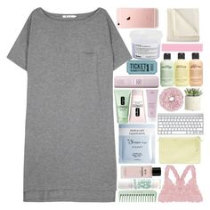 """♡ cropped icon? read description"" by s-erene ❤ liked on Polyvore featuring T By Alexander Wang, Humble Chic, Chanel, Deborah Lippmann, Clinique, Aveda, Allstate Floral, philosophy, Davines and Martex"