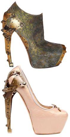 McQueen heels - so weird, but cool!