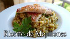 Risotto de Mejillones con salmonetes (receta fácil)