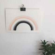 Image of rainbow #1 :: original painting