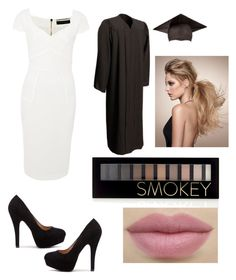 """graduation!!"" by anjana-akanksha on Polyvore featuring Roland Mouret, Forever 21 and graduationdaydress"