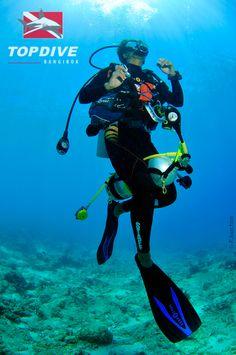 The legendary diver's grace !!   www.topdive.com