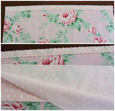 Make a Pretty Pillowcase - Molly and Mama Sewing Pillow Cases, Sewing Pillows, Diy Pillows, How To Make Pillows, Quillow Pattern, Neutral Bed Linen, Bed Linen Design, Sewing Projects For Beginners, Vintage Fabrics