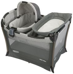 Graco Day2Night Sleep System - Bedroom Bassinet & Pack 'n Play Playard - Fifer