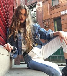 Are you looking for stylish and trendy outfits?de is the leading Online Store in Germany for Ladies Outfits & Accessories! We offer inexpensive and trendy stuff for fashion lovers. Denim Outfits, Casual Outfits, Cute Outfits, Fashion Outfits, Fashion Trends, Ladies Outfits, Fashion Killa, Look Fashion, Denim Fashion