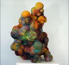 """""""Blast"""" by Jodi Colella, Fiber Artist"""