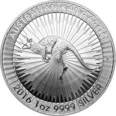 2016-P Australian 1 oz .999 Silver BU Kangaroo Very Limited Round Bullion Coin