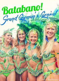 We've all heard of the world famous Brazilian Carnival in Rio de Janiero. We've all seen the Nicki Minaj video of the Trinidad version. But did you know there are actually smaller carnivals all over Latin America and the Caribbean? Like the Cayman Island's own Batabano!: