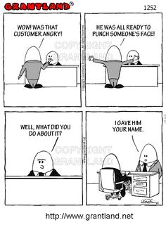 When you're confronted with an angry customer, it's important to take quick and appropriate action. Customer Service, Me Quotes, Jokes, Action, Think, Funny, Tired Funny, Chistes, Group Action